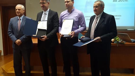 Plakete Zlatna kuna dodijeljenje najuspješnijim tvrtkama Karlovačke županije